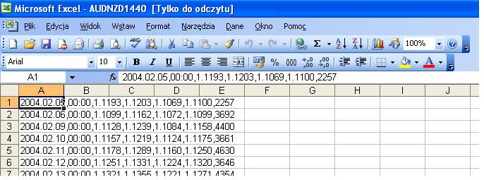 excel forex