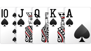 Poker królewski -układy pokerowe