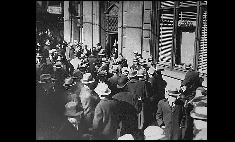 Wielki kryzys, panika bankowa w USA (1933)