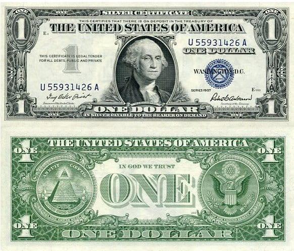 1 dolar USD