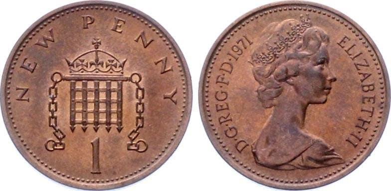 1 Pens 1971-1981