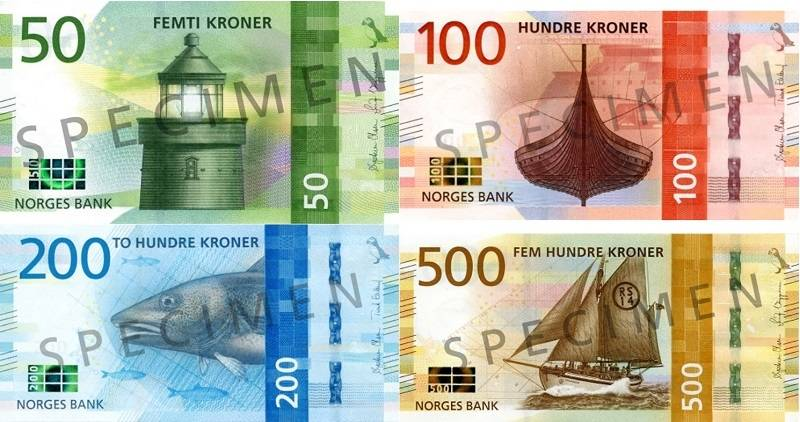 korona norweska nok - waluta norwegii