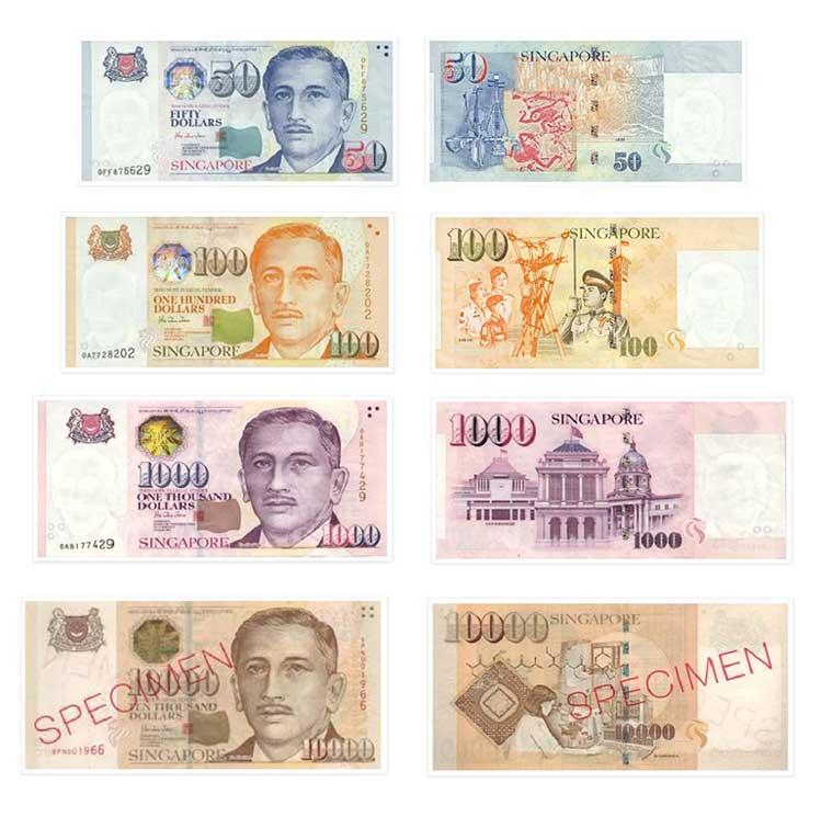 Dolar singapurski SGD - Waluta Singapuru